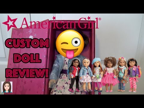American Girl Create Your Own Doll Review! I Made An AG Doll!
