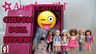 Amerikan Kız Kendi Bebek İnceleme Oluşturun! AG Bir Bebek yaptım.