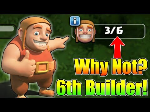 Why Clash of Clans Not Give Us 6th Builder?   What Is The Reason?   Let's Find Out