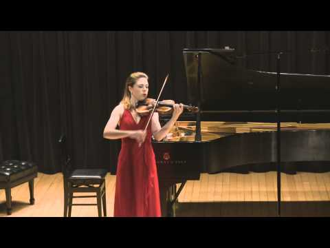 Tessa Lark plays Telemann (made by SiMon) in HD