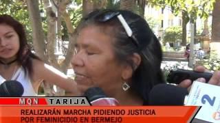 REALIZARAN MARCHA PIDIENDO JUSTICIA POR FEMINICIDIO EN BERMEJO