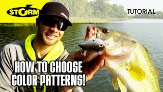 Changing up your color patterns: HOW TO FISH