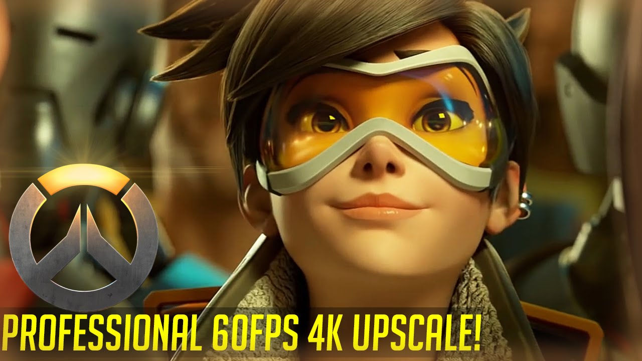 Overwatch Alive Short 60fps 4K professional upscale