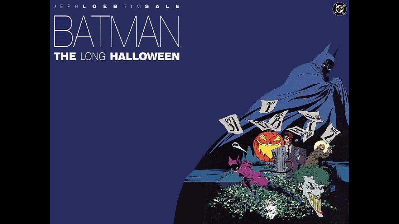 batman: the long halloween (graphic novel) review - youtube