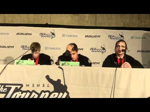 Duluth East Post-Game Press Conference