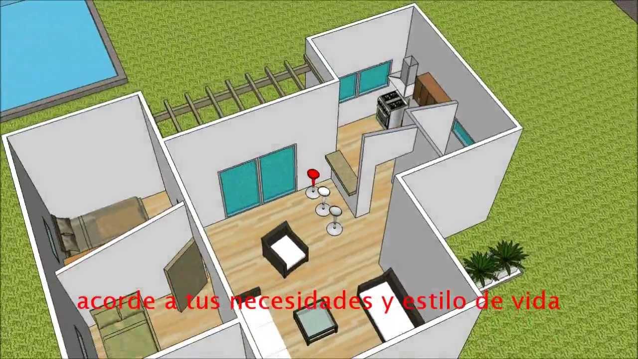 Casas prefabricadas modernas youtube for Disenos de casas prefabricadas modernas