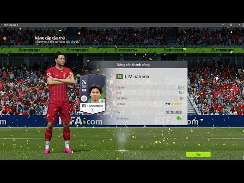 FIFA Online 4 - Nâng cấp thẻ hàng hiếm Takumi Minamino +5 - Nâng cấp thẻ FO4