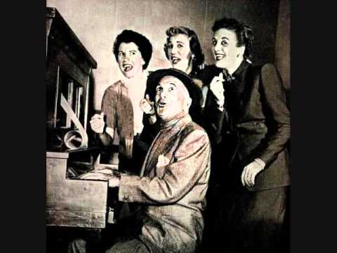 Al Jolson and the Andrews Sisters - The Old Piano Roll Blues (1950)