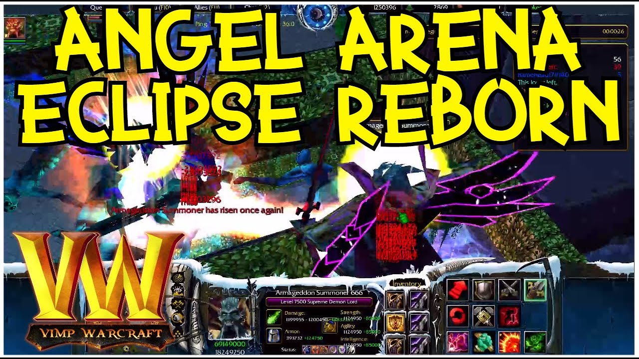 Warcraft 3 Reforged | Angel Arena Eclipse Reborn