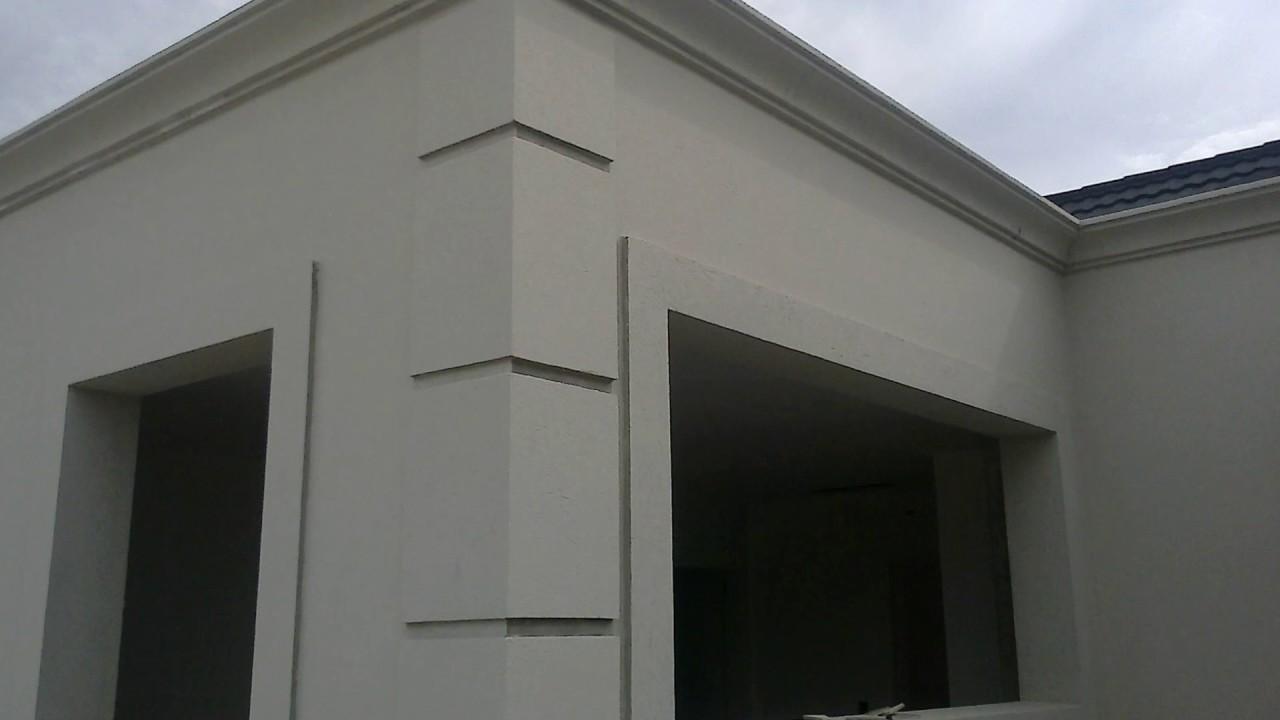 Molduras para exterior modelo cornisa romana youtube for Modelos de casas exteriores