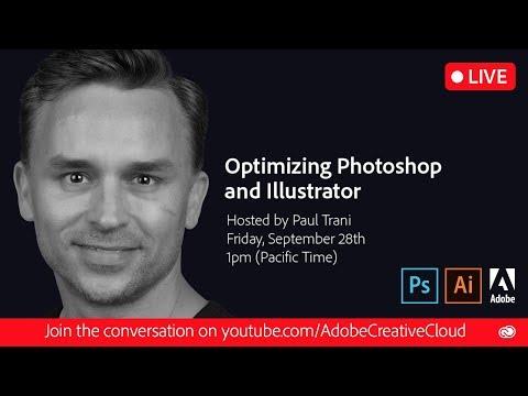 Optimizing Photoshop and Illustrator
