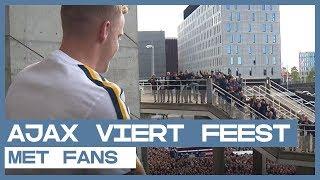 FANS | Ajax neemt voorschot op titelfeestje met supporters
