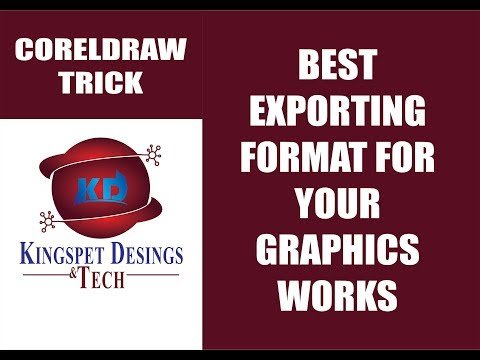 Best Exporting Format for Your Graphics Work - KingspetDesigns