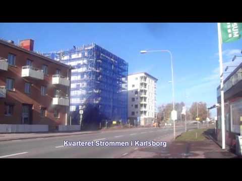 Inredning på lägenheten i Kvarteret Strömmen i Karlsborg