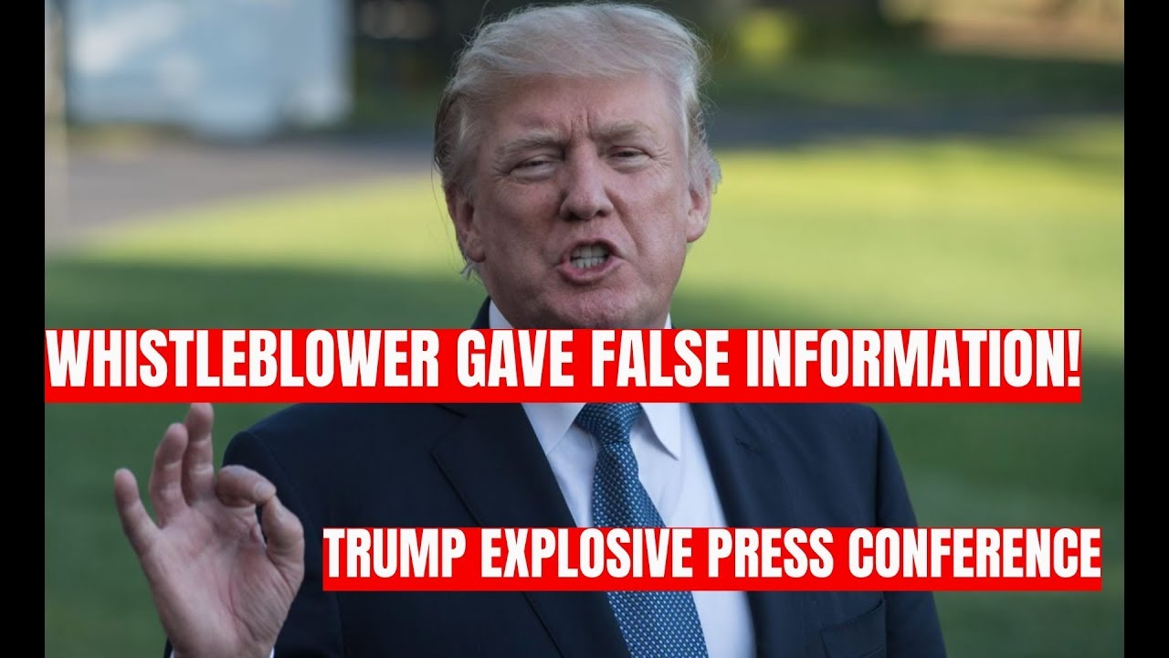 GST WHISTLEBLOWER GAVE FALSE INFORMATION: Trump EXPLOSIVE Press Conference at The White House