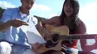 Download Lagu Carolyn & Andrew Lee -  Lucky Colbie Caillat and Jason Mraz acoustic cover mp3