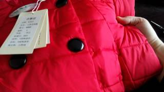 видео китайские пуховики
