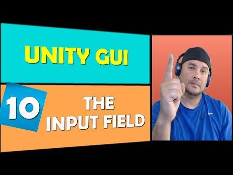 Unity GUI: Input Field 2017.2