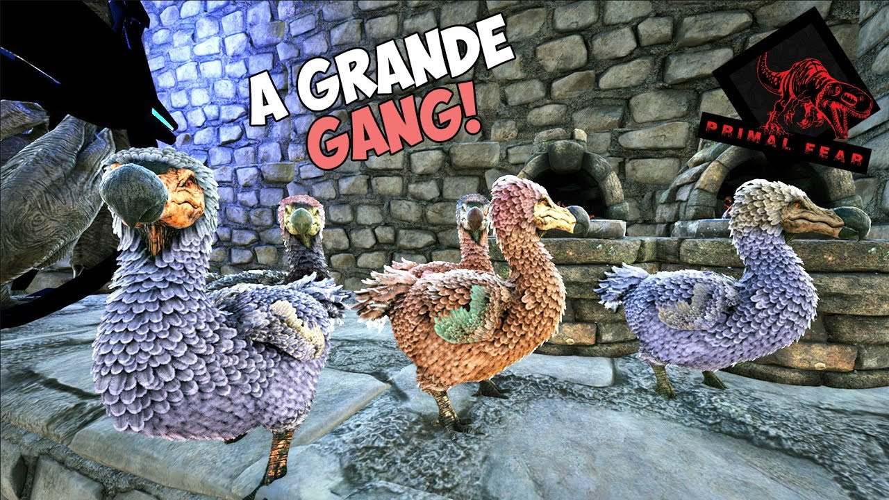A GANG DO FARM DE OVO!! ep.06 - ARK PRIMAL FEAR GENESIS
