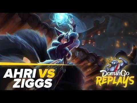 Ahri vs Ziggs URF