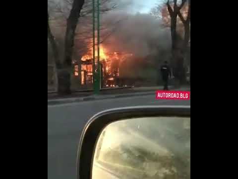 Пожар в Благовещенске