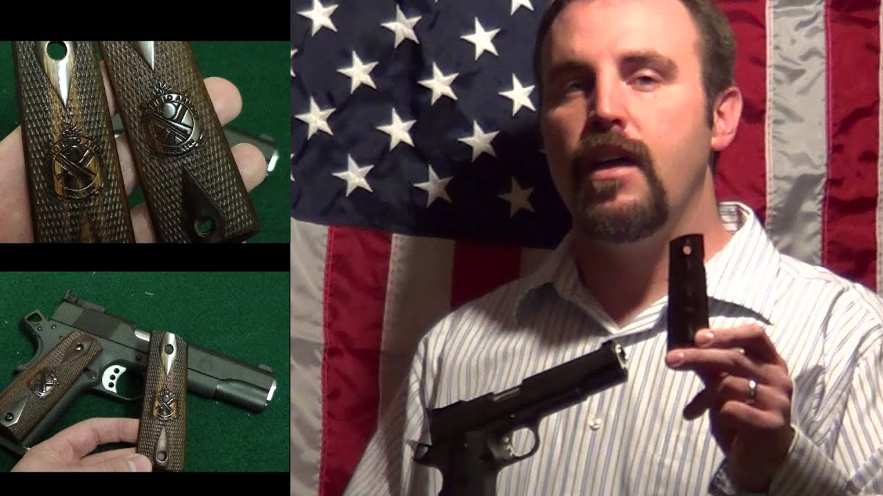 Springfield Armory Range Officer Hogue Grips for Government 1911