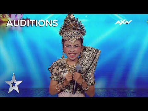 Young Putri Sridevi's Dancing Leaves Everyone In Smiles! | Asia's Got Talent 2019 on AXN Asia