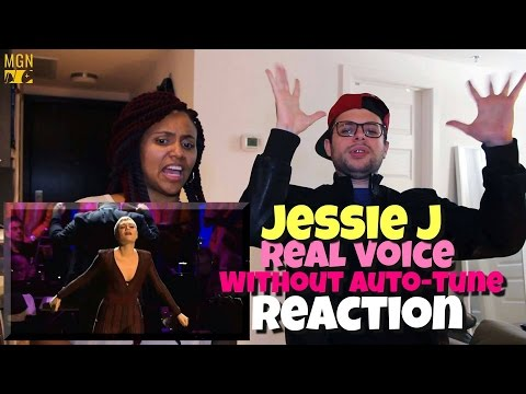 Cover Lagu Jessie J - Real Voice (Without Auto-Tune) Reaction STAFABAND