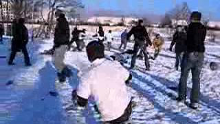 Flint's Crew vs Music Hall