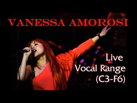 Vanessa Amorosi's Live Vocal Range/Best High Notes (C3-F6)