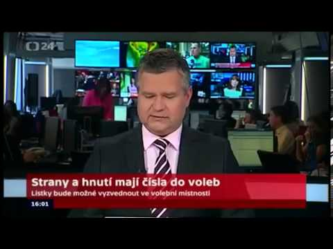 Penis on Czech TV news bulletin