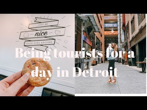 VLOG: being tourists for a day in Detroit