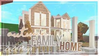 ROBLOX | Bloxburg: Herbst Familienhaus 101K+ | Speedbuild