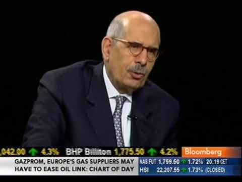 Charlie Rose interviews Mohamed ElBaradei