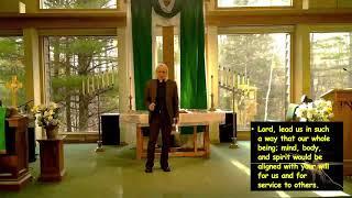 "Worship-November 22, 2020  ""God's Take-Home Exam"""