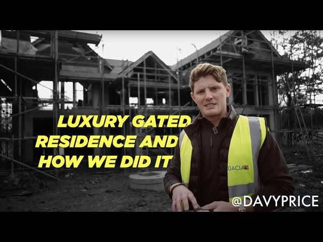 Edgewater Oaks: Luxury gated waterside residence -  and how we do it.