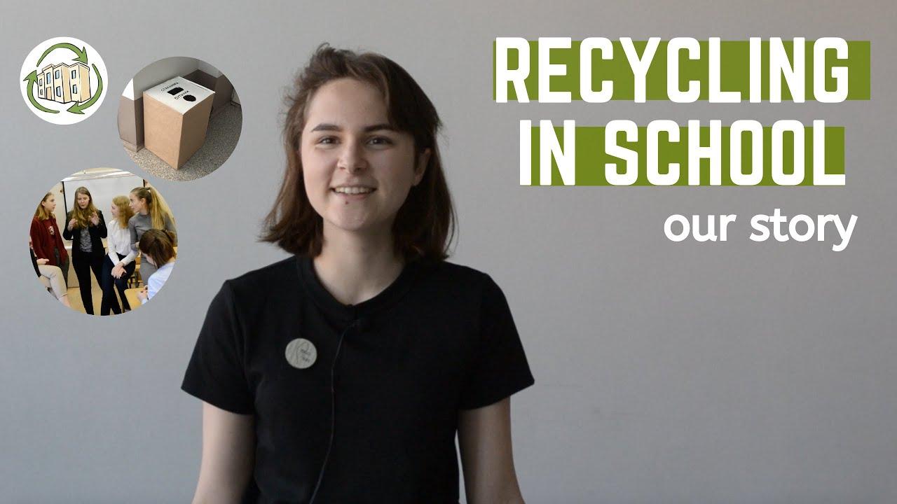 Сортировка мусора в школе? Это реально.