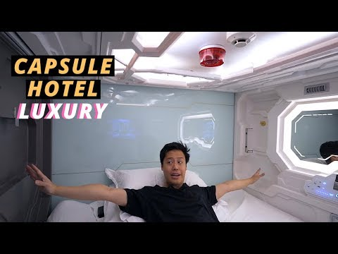 Luxury CAPSULE HOTEL EXPERIENCE in SYDNEY - Australia