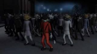 Michael Jackson Thriller Gatos - animação em homenagem - Thriller (animation cats)