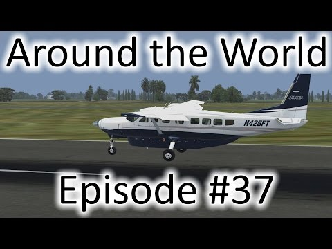 FSX | Around the World Ep. #37 - Singapore to Palembang