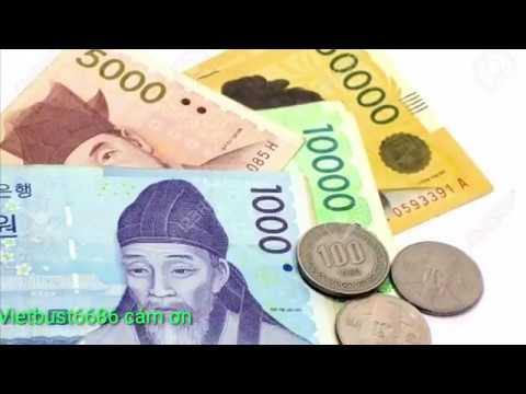 Chia Sẽ Mệnh Giá Tiền Hàn Quốc Và Tiền Lương Thu Nhập Vietbust6686