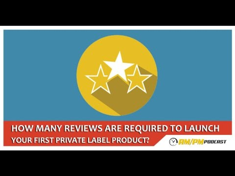 How Many Reviews Are Needed To Launch a Private Label Product On Amazon? - EP41