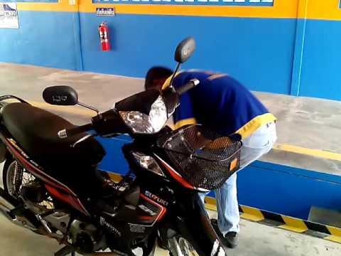 ขั้นตอนการตรวจสภาพรถจักรยานยนต์