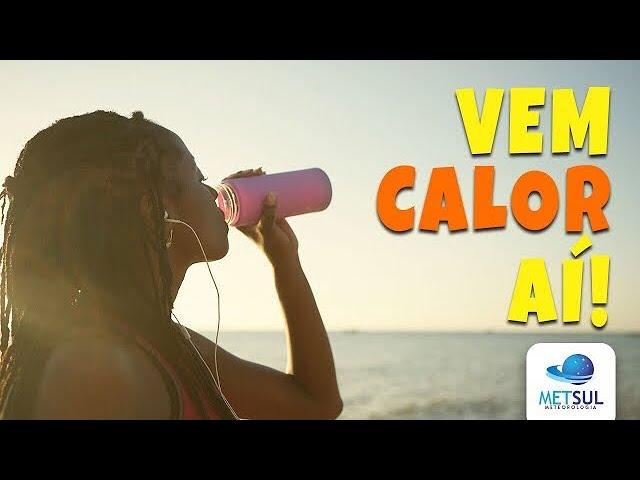 16/10/2020 - Aviso de forte calor no Rio Grande do Sul | METSUL