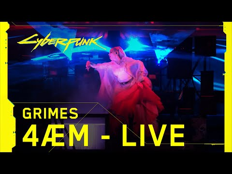 Download Cyberpunk 2077 – Grimes performing 4ÆM live at The Game Awards Mp4 baru