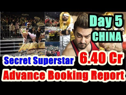 Secret Superstar Advance Booking Day 5 In CHINA