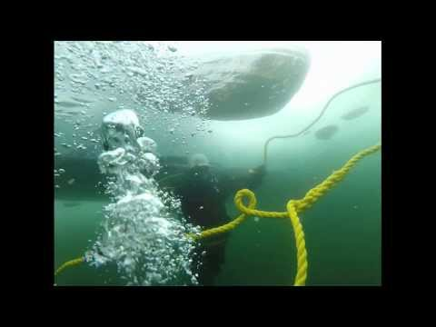 Ice Diving in Lake George, NY