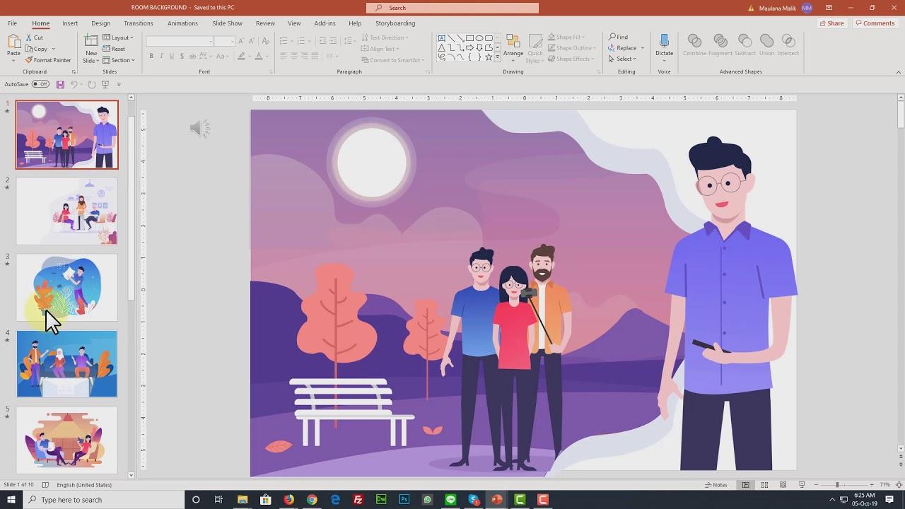 Demo Levidio Animatoon Bikin Video Animasi Powerpoint Youtube