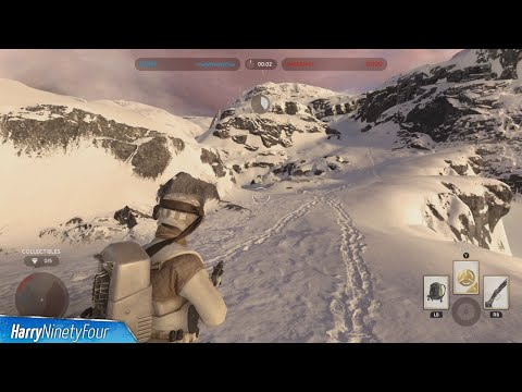 Star Wars Battlefront - All Collectible Locations - Battle on Hoth Collectible Guide