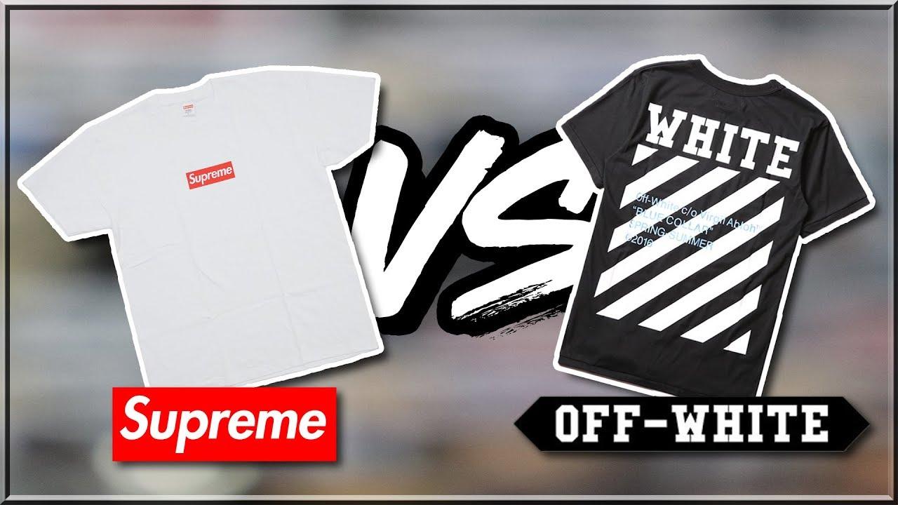 Supreme Vs Off White - Just Me And Supreme